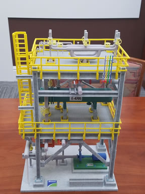 Physical 3D Models of Process Units are Returning to Use!