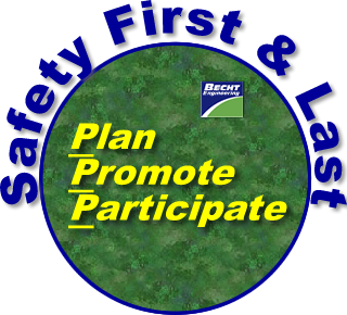 Safety - Plan, Promote and Participate:  A Simple Recipe For Success