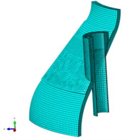 Estimating Creep Life of Fluid Catalytic Cracker Internals Using FEA
