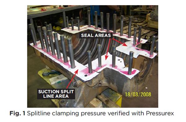 Correcting Splitline Leaks on Dresser-Rand M-Line Compressors