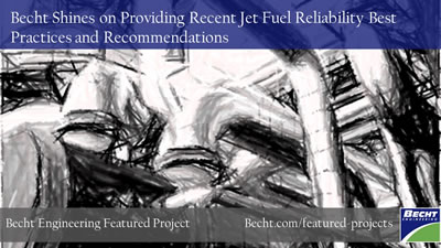 Becht Shines on Jet Fuel Analysis
