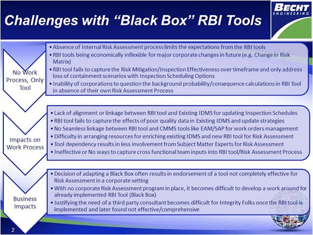 becht engineering BlackBoxRBI tool
